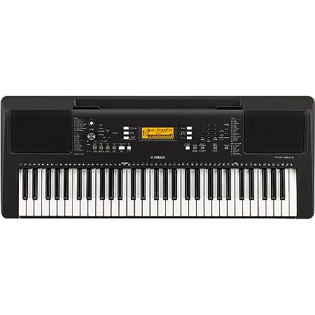 Yamaha PSR-E363 - Teclado electrónico digital con 61 teclas y función de aprendizaje, color negro