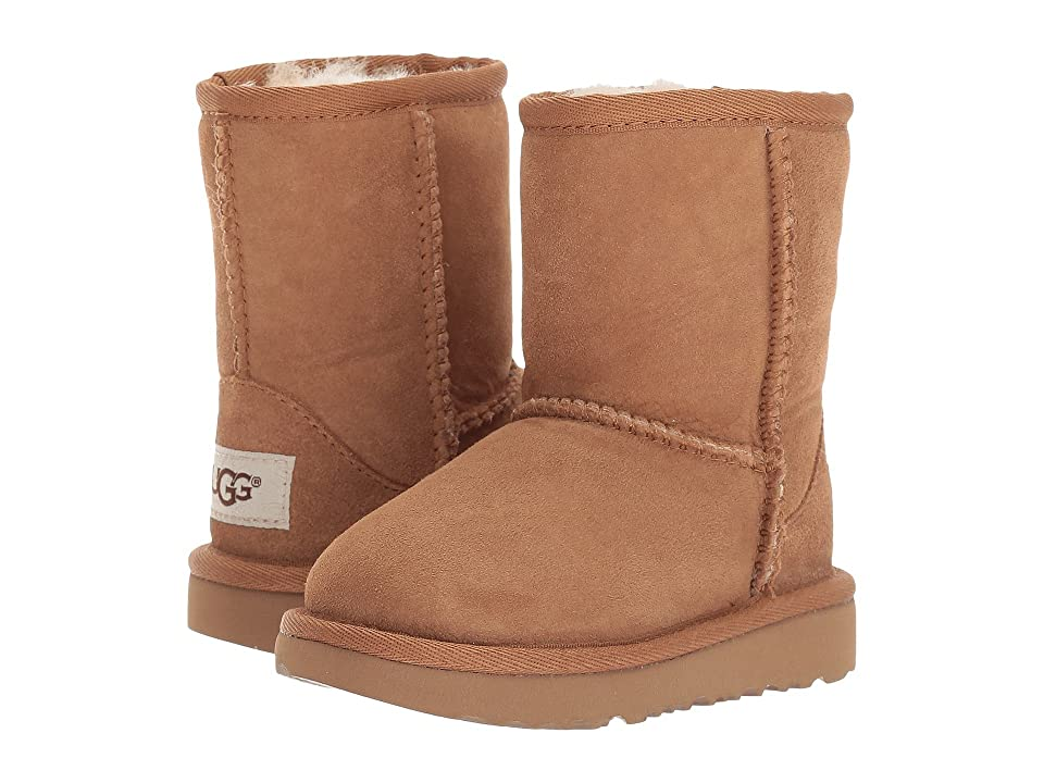 UGG Kids Classic II (Toddler/Little Kid) (Chestnut) Kids Shoes