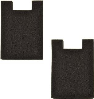 HQRP 2-Pack Foam Filter for Eureka SurfaceMax 300 2976AVZ / Surface Max 200 2977AV Upright Vacuum Cleaner Coaster