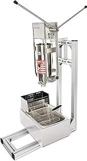 5L Spanish Churro Machine Frying Bread Sticks Maker includes Electric Fryer (220V AU/EU/UK plug)