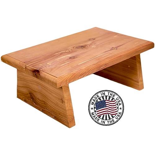 Groovy Small Wood Stool Amazon Com Beatyapartments Chair Design Images Beatyapartmentscom