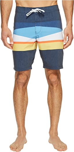 Flagged Four-Way Stretch Boardshorts 20""