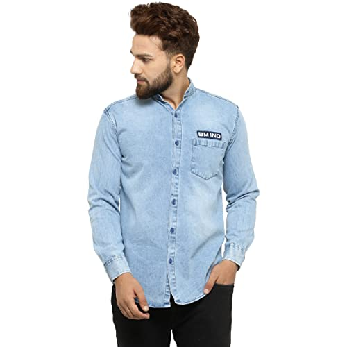 0b944f129eb Men's Jeans Shirts  Buy Men's Jeans Shirts Online at Best Prices in ...
