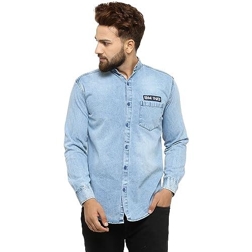 Denim Shirts Buy Denim Shirts Online At Best Prices In India