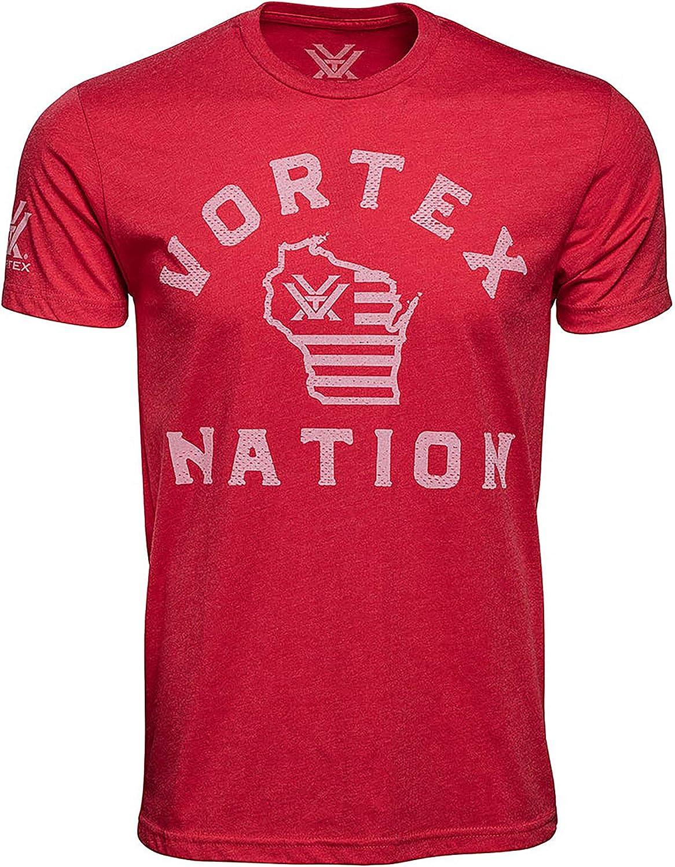 cheap Vortex Optics Daily bargain sale Nation Wisconsin Shirts Sleeve Short