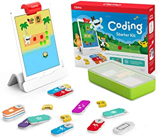 Osmo 901-00021 - Coding Starter Kit for iPad - 3 Educational Learning Games - Ages 5-10+ - Learn to Code, Coding Basics & ...