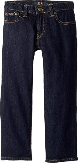 Polo Ralph Lauren Kids Hampton Straight Stretch Jeans (Toddler)