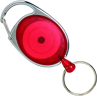 REXEL 9806103 ID SNAP Lock Retractable KEYHOLDER,RED (HANGSELL)
