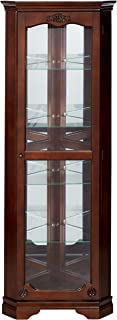 Best antique mahogany corner cabinet Reviews