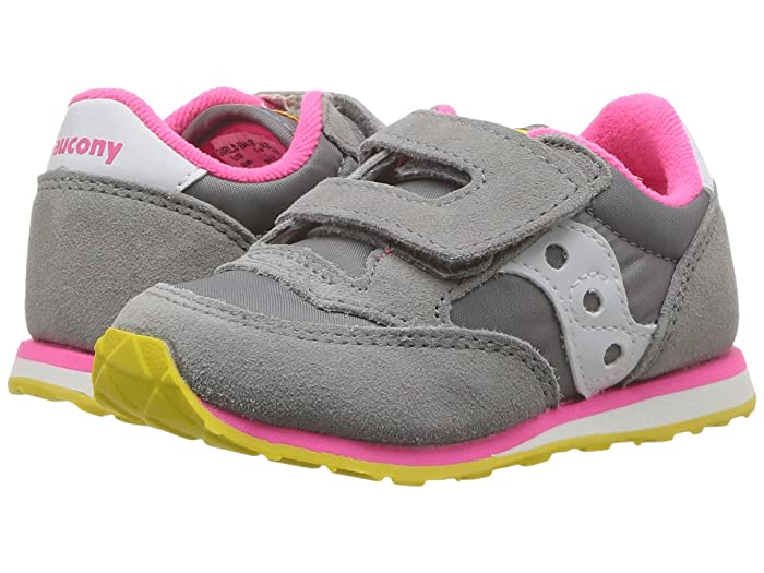823c3e70 Saucony Kids Originals Jazz Hook & Loop (Toddler/Little Kid ...