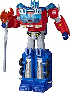 Transformers E7112AS00 Toys Cyberverse Ultimate Class Optimus Prime Action Figure - Combines with Energon Armor to Power U...