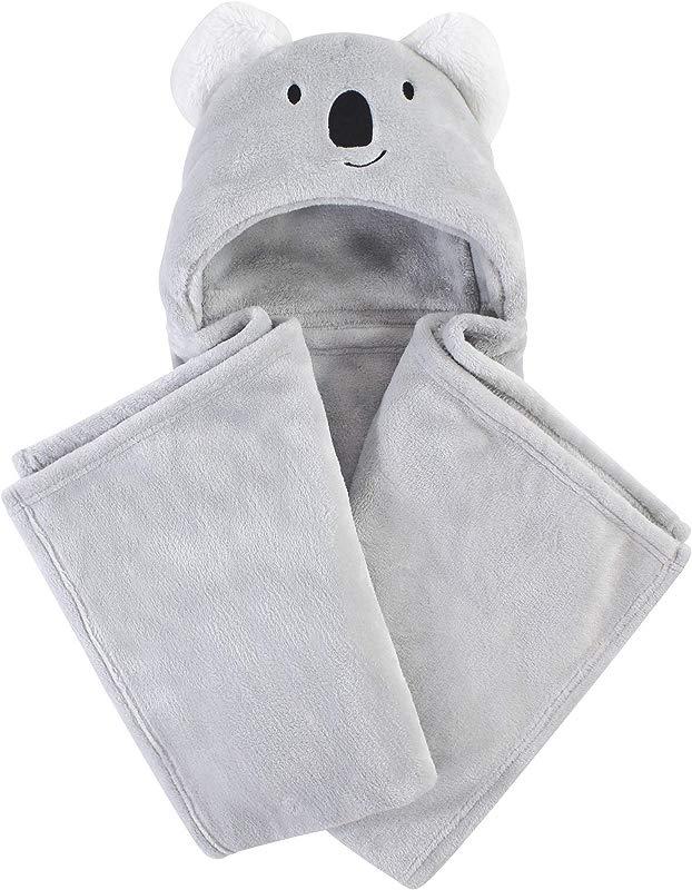 Hudson Baby Unisex Baby And Toddler Hooded Plush Blanket Koala One Size