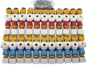 Toyvian 4 St/ücke Tischfu/ßball Figuren Kickerfiguren f/ür 1,4 Mt Tischfu/ßball 2 st/ücke Rot und 2 st/ücke Blau