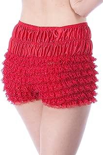 Womens Sexy Ruffle Panties Tanga Dance Bloomers Sissy Booty Shorts (N20 Petite)