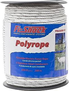 Fi-Shock PR656W6-FS Monofil Poly Rope 656-Feet (200 m)