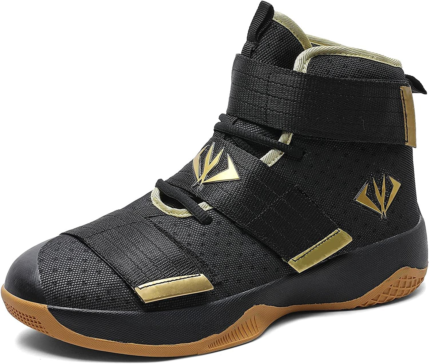 MAUGELY Men's Women's Velcro Breathable Basketball Max 74% OFF Student Shoes Tucson Mall