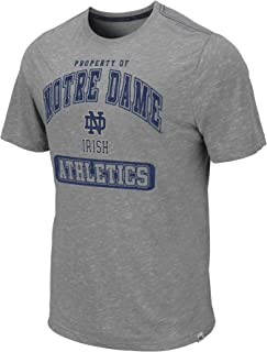 Colosseum Men's NCAA Retro Property of Relaxed Fit Vintage T-Shirt-Grey