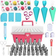 Cake Decorating Kit Cupcake Decorating Kit - 68pcs Cookie Decorating Supplies and Cookie Decorating Kit with Piping Bags a...
