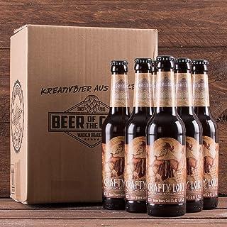 WACKEN BRAUEREI Pale Ale Craft Beer Box 6 x 0,33 l Flasche | CRAFTY LOKI | Viking Craftbeer Set Gift for Men | Wikinger Kraft Bier Geschenk für Männer | Party Festival Heavy Metal
