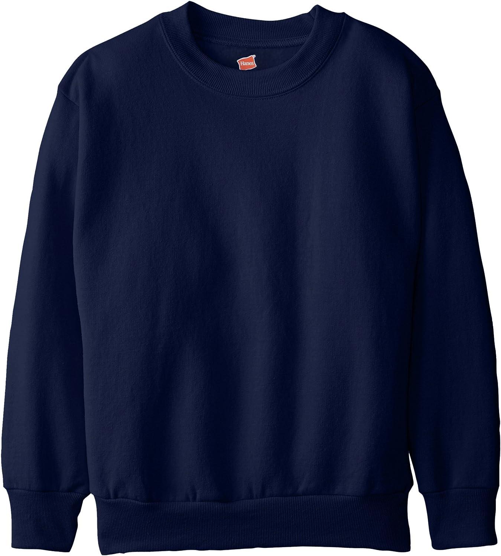Blue//Gray Hanes Boys/' Graphic Fleece Colorblocked Sweatshirt Size XL 14-16