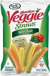 Sensible Portions Garden Veggie Straws, Sea Salt, 1 oz. (Pack of 6)