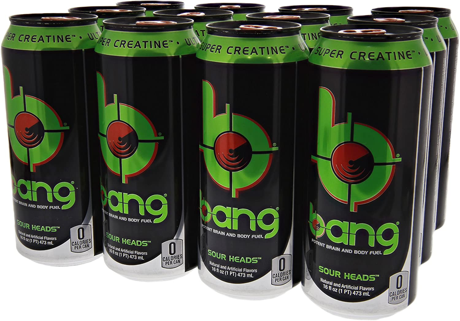 Vpx Bang OmHZCDP 特価品コーナー☆ 70%OFFアウトレット Sour Cans 12 Heads