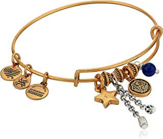 Alex and Ani Godspeed Cluster Bangle, Two-Tone