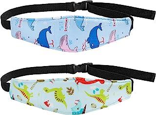 2 قطعه کودک کارسیت سر پشتیبانی از دایناسور دلفین باند تسمه سرشیر صندلی خواب سر تکیه گاه خواب سر گردن تسکین بند بند بند بند برای کودکان و نوجوانان کودک نوپا کودک