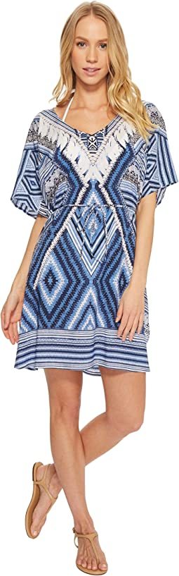 Seafolly Desert Tribe Kaftan Cover-Up