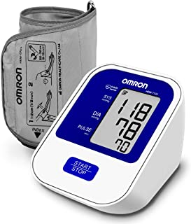 Omron HEM 7124 Fully Automatic Digital Blood Pressure Monitor with Intellisense Technology For Most Accurate Measurement
