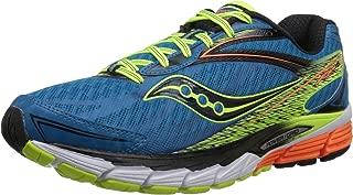 Men's Ride 8 Running Shoe (Midnight/Black/Orange, 9 D(M) US)