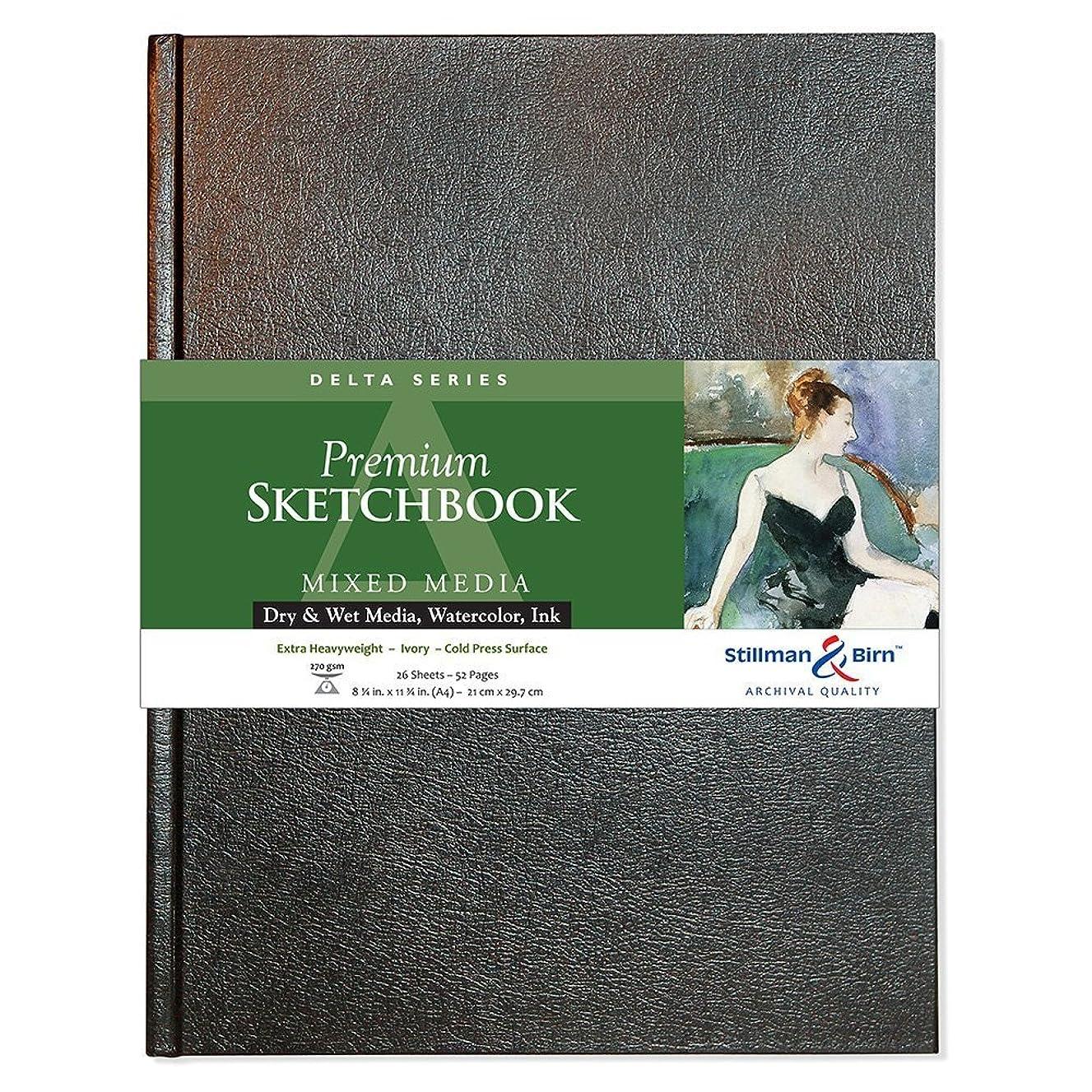 Stillman & Birn Delta Series Hardbound Sketchbook, A4 (8.25 x 11.75