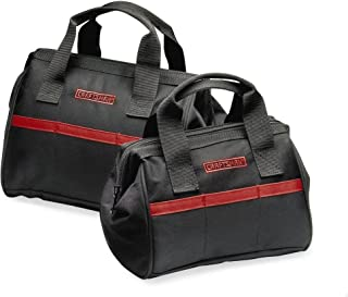 Craftsman 2-PC Tool Bag Set 940558, Black and red (2 tool bags one 10 inches and one 12 inches)