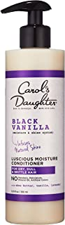 Carol's Daughter Black Vanilla Moisture & Shine Hydrating Hair Conditioner For Dry Hair and Dull Hair, with Shea Butter, B...