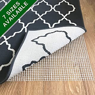 casa pura Non Slip Rug Pad 2x4 – Premium Rug Gripper for Hardwood Floors and Carpet   Many Sizes to Choose from   Super Easy to Customize Size