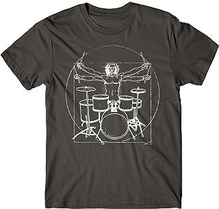 Baterista Drummer Batteria Tamburi Regalo Maglietta