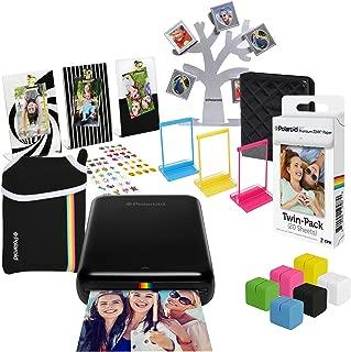Polaroid Zip Wireless Photo Printer (Black) Ultimate Gift Bundle