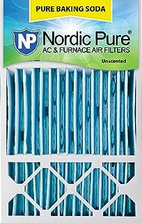 Nordic Pure 16x20x1 Pure Baking Soda Odor Deodorizing AC Furnace Air Filters 16 x 20 x 1 3