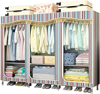 Penderies Rangement pour vêtements Armoire Placard de rangement Vêtements portable Closets Armoire Placard Organisateur ét...