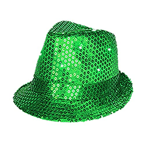 799a170648b25 Green Fedora  Amazon.com