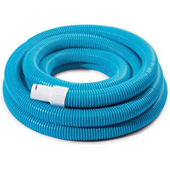 Intex 29083E N/AA Spiral Hose for Pool Filters, 1.5in X 25ft, One Size, Blue