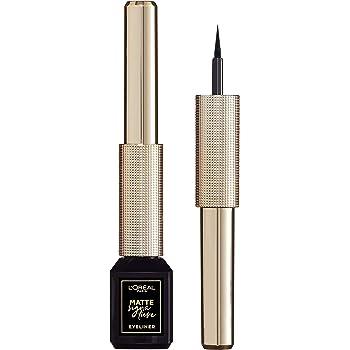 L'Oreal Paris Matte Signature Liner, Black, 19 g