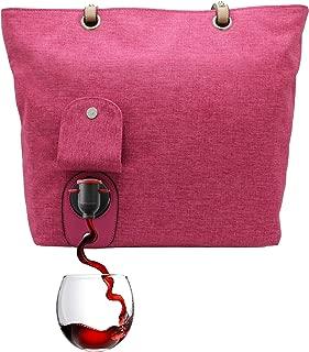 Best wine purse pink Reviews