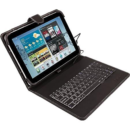 Silver HT - Funda con Teclado Bluetooth para Tablet Samsung ...