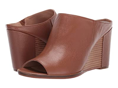 LINEA Paolo Gaia Wedge Heel (Cognac Grainy Goat Leather) Women