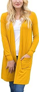 Women's Soft Long Sleeve Pocket Cardigan