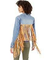 Denim and Fringe Jacket