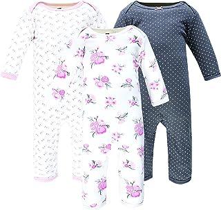 Hudson Baby Kombinezon dziecięcy Uniseks - niemowlęta Hudson Baby Unisex Baby Cotton Coveralls, Basic Pink Floral