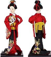 vintage wooden japanese kokeshi dolls