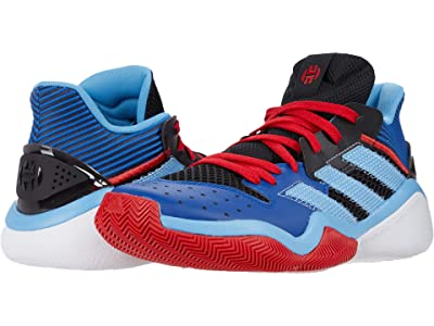 adidas Harden Stepback (Black/Team Light Blue) Basketball Shoes